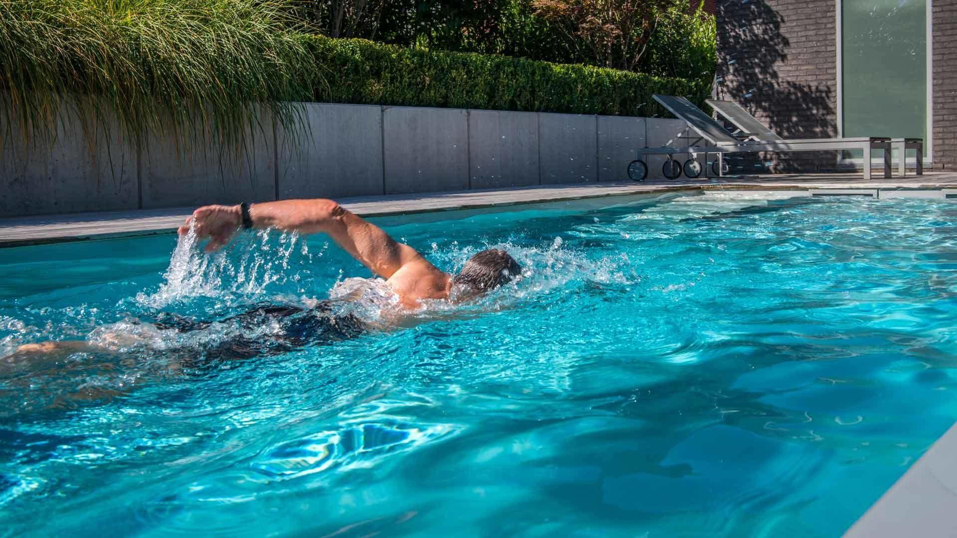 Natuurlijk en chloorvrij zwemmen